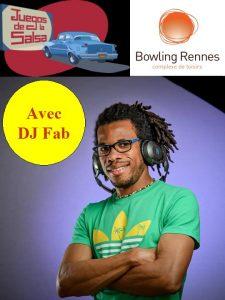 Soirée Fifty-Fifty Salsa & Bachata avec DJ Fab (L'oiseau des iles) @ bowling Alma Loisirs | Rennes | Bretagne | France