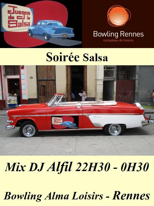 Soirée Spéciale Salsa @ bowling Alma Loisirs | Rennes | Bretagne | France