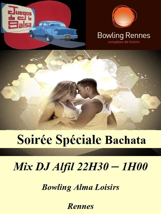 Soirée spéciale Bachata @ bowling Alma Loisirs | Rennes | Bretagne | France