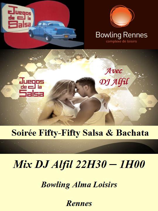 Juegos : Soirée Fifty-Fifty Salsa & Bachata