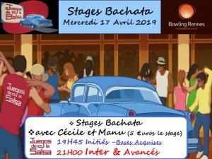 Stages Bachata avec Cécile & Manu @ bowling Alma Loisirs | Rennes | Bretagne | France