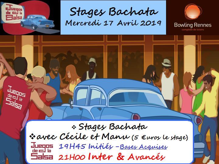 Juegos : Stages Bachata avec Cécile & Manu