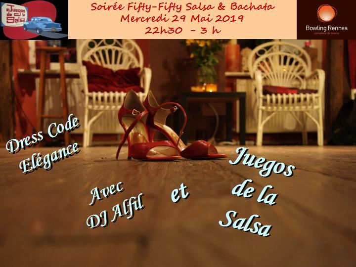 Juegos : Soirée Salsa & Bachata (Dress Code = Elégance) @ bowling Alma Loisirs | Rennes | Bretagne | France