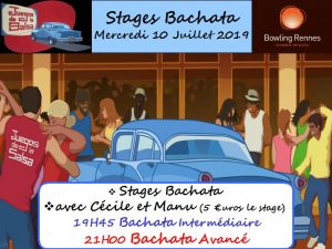 Juegos : Stages Bachata avec Cécile & Manu @ bowling Alma Loisirs | Rennes | Bretagne | France